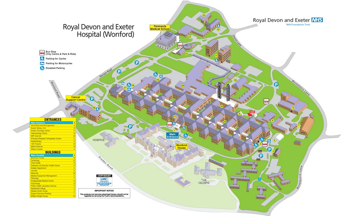 Hotels Near Royal Devon And Exeter Hospital
